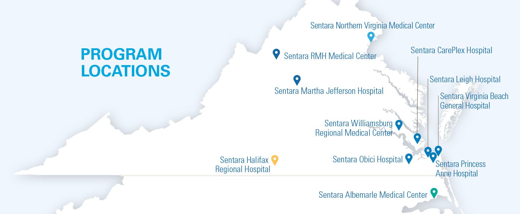 Sentara Orthojoint Center Map